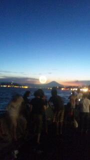 江の島花火♪なぅ